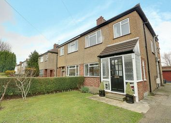Thumbnail 3 bed semi-detached house for sale in Sussex Road, Ickenham