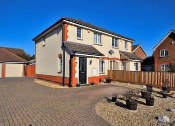 Thumbnail 3 bed semi-detached house for sale in Byford Way, Leighton Buzzard