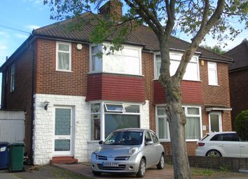 Thumbnail 3 bedroom semi-detached house to rent in Cheviot Gardens, Golders Green