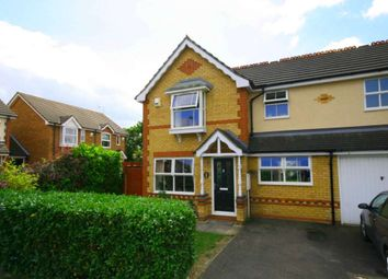Thumbnail 3 bed semi-detached house for sale in Long Grove, Harold Wood, Romford