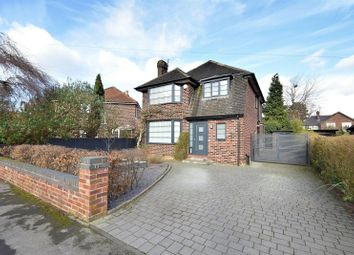 Thumbnail 3 bed detached house for sale in Meadway Close, Sale