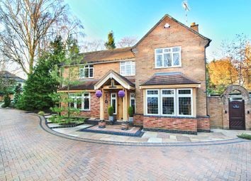 Thumbnail 4 bed detached house for sale in Wychwood Avenue, Knowle, Solihull