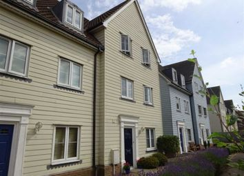 Thumbnail 4 bed town house for sale in Meadow Crescent, Ipswich, Suffolk