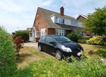 Thumbnail 3 bed semi-detached house to rent in Meadow Close, Thundersley, Thundersley