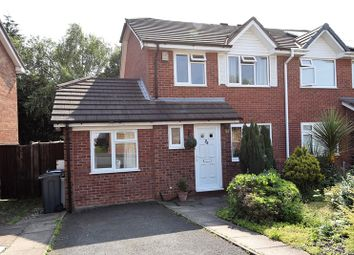 Thumbnail 3 bed semi-detached house for sale in York Close, Bournville, Birmingham