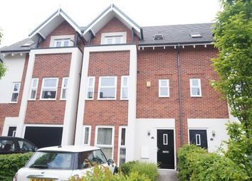 Thumbnail 3 bedroom town house to rent in Houseman Crescent, West Didsbury, Didsbury, Manchester