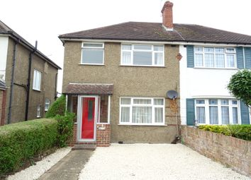 Thumbnail 3 bed semi-detached house for sale in Holly Avenue, New Haw