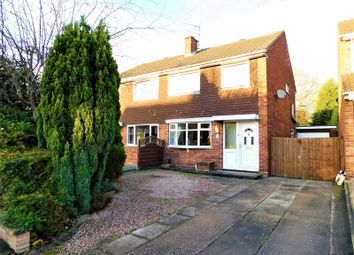 Thumbnail 3 bed semi-detached house for sale in Oldfields Crescent, Great Haywood, Stafford.