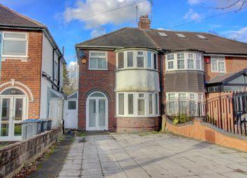 Thumbnail 3 bed semi-detached house for sale in Teddington Grove, Perry Barr, Birmingham