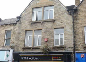 Thumbnail 1 bed flat to rent in Market Street, Milnsbridge, Huddersfield