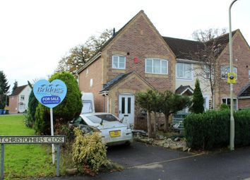 Thumbnail 3 bed semi-detached house for sale in St. Christophers Close, Aldershot