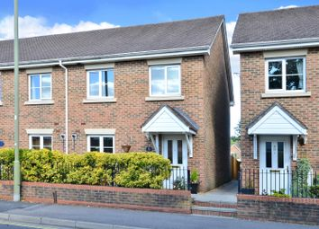 Thumbnail 3 bed end terrace house for sale in Vicarage Road, Blackwater, Camberley