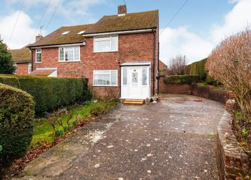 Thumbnail 2 bed end terrace house for sale in Putlands Crescent, Bexhill-On-Sea