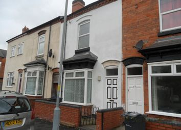 Thumbnail 3 bed terraced house to rent in Leslie Road, Perry Barr, Birmingham