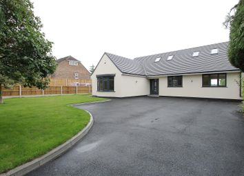 Thumbnail 4 bed detached bungalow for sale in The Hill, Glapwell, Chesterfield