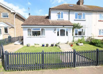 Thumbnail 4 bed semi-detached house for sale in West Cliff Gardens, Herne Bay