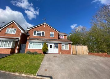 Thumbnail 4 bed detached house for sale in Dickens Close, Galley Common, Nuneaton