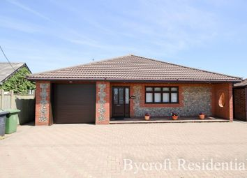 Thumbnail 3 bed detached bungalow for sale in Bush Road, Winterton-On-Sea, Great Yarmouth