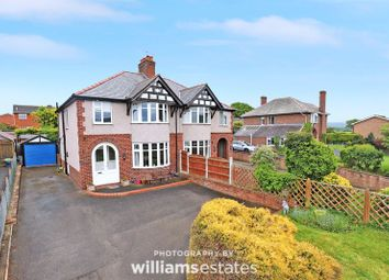 Thumbnail 3 bed semi-detached house for sale in Llanfair Road, Ruthin