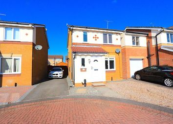 Thumbnail 3 bed detached house for sale in Bleasby Close, Leicester