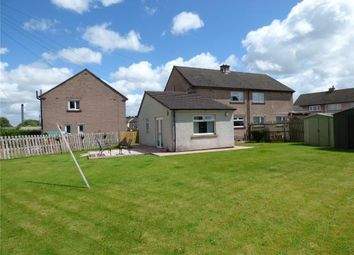 Thumbnail 4 bedroom semi-detached house for sale in Burnside, Wigton, Cumbria
