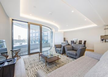 Thumbnail 3 bedroom flat to rent in The Corniche, Tower Two, 20 Albert Embankment, London