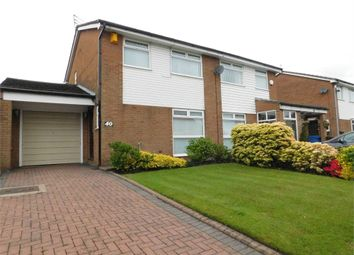 Thumbnail 3 bed semi-detached house for sale in Sandgate Road, Whitefield, Manchester