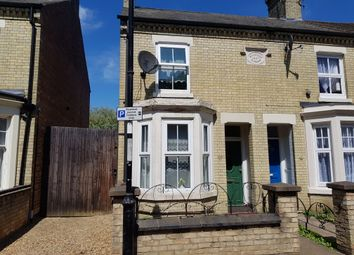 Thumbnail 3 bed semi-detached house to rent in Alma Road, Peterborough