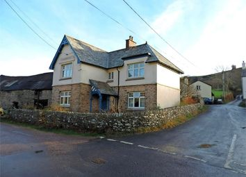 Thumbnail 4 bedroom detached house for sale in Brendon, Lynton, Devon