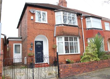 Thumbnail 3 bed semi-detached house for sale in Cordova Avenue, Denton, Manchester