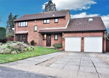 Thumbnail 4 bed detached house for sale in Middleton Close, Leicester