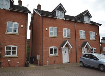 Thumbnail 3 bed semi-detached house for sale in Waters Edge Close, Newcastle-Under-Lyme