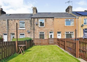 Thumbnail 2 bed terraced house for sale in Charlaw Terrace, Sacriston, Durham