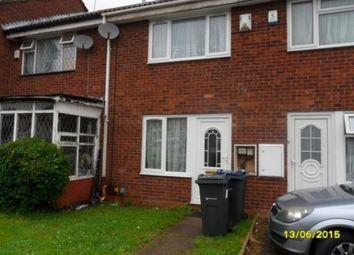 Thumbnail 2 bed property to rent in Tudor Street, Winson Green, Birmingham
