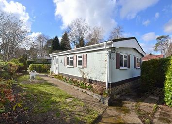 Thumbnail 2 bed mobile/park home for sale in Green Glades, Church Crookham, Fleet
