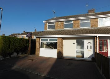 Thumbnail 3 bed detached house for sale in Arnold Close, Castle Gresley