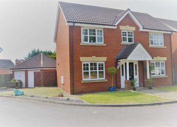 Thumbnail 4 bed detached house to rent in Hoveton Way, Chigwell, Ilford
