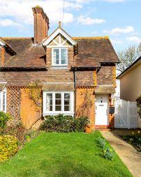 Thumbnail 3 bed semi-detached house for sale in Grange Cottages, Upper Green Road, Shipbourne, Tonbridge