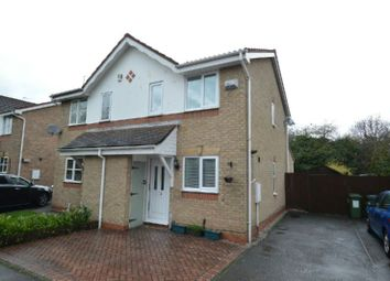 Thumbnail 2 bed semi-detached house for sale in Tom Paine Close, Thorpe Astley, Leicester