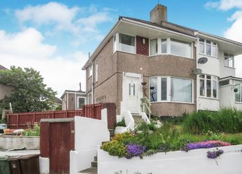 3 bed semi-detached house for sale in Bridwell Road, Weston Mill, Plymouth PL5
