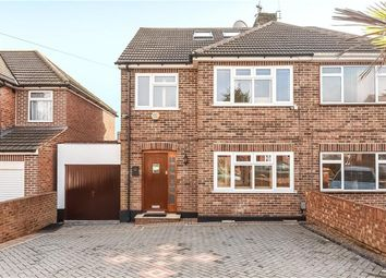 Thumbnail 4 bed semi-detached house for sale in Whitegate Gardens, Harrow, Middlesex