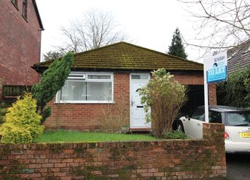 Thumbnail 2 bed bungalow to rent in Highfield Road, Prestwich, Manchester