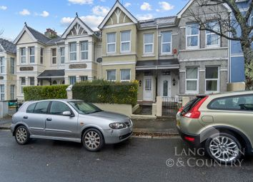 Thumbnail 3 bed terraced house for sale in Elphinstone Road, Peverell, Plymouth.