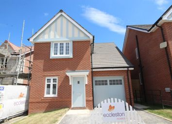 Thumbnail 3 bed detached house for sale in The Frodsham, Garrett Manor, Norton Road, Worsley, Manchester