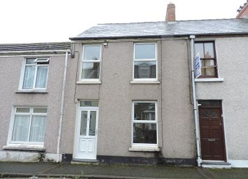 Thumbnail 3 bed terraced house to rent in Greville Road, Milford Haven