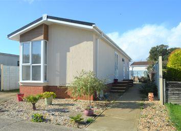 Hook Lane, Aldingbourne, Chichester PO20. 2 bed mobile/park home for sale
