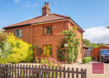 Thumbnail 2 bed semi-detached house for sale in High Common, Swardeston