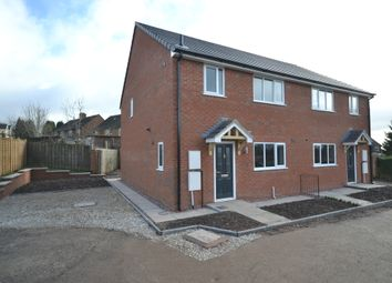 Thumbnail 3 bed semi-detached house for sale in Bains Grove, Chesterton, Newcastle-Under-Lyme