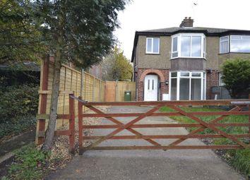 Thumbnail 3 bed semi-detached house to rent in Leys Road, Loughton, Milton Keynes