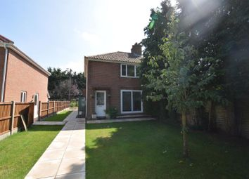 Thumbnail 3 bedroom semi-detached house for sale in Hall Lane, Wacton, Norwich